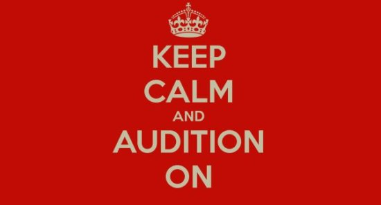 Keep Calm and Audition On