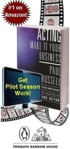 Paul Russell's Best-Selling Book for Actors!