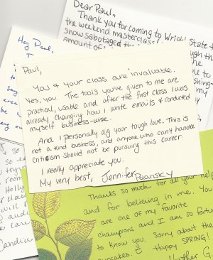 Should Actors Send Thank You Cards To Agents, Casting Directors & Directors After an Audition?
