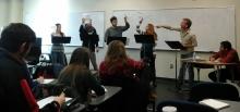 Master Class fun @ Emory & Henry!
