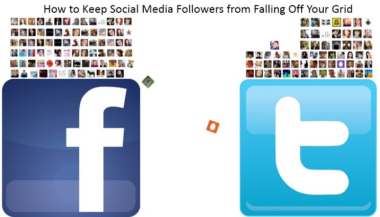 How to Keep Facebook Friends & Twitter Followers