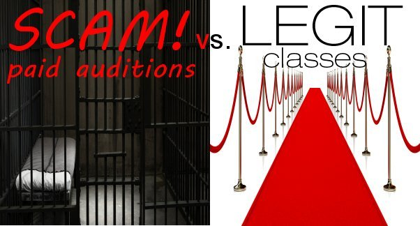 """Scam"" Paid Auditions vs. Legitimate Acting Classes"