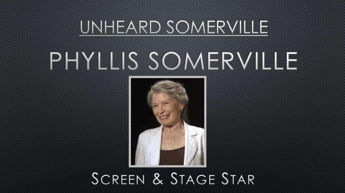 Unheard Phyllis Somerville – Uncensored. Unscripted. Unmistakeable. Stage & Screen Star SpeaksCandidly