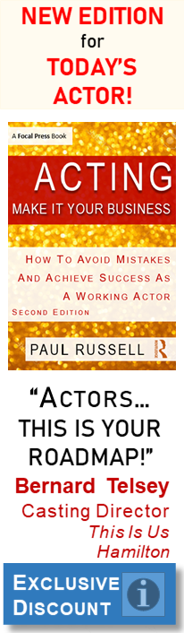 Exclusive Discount for NEW EDITION of ACTING: Make It Your Business